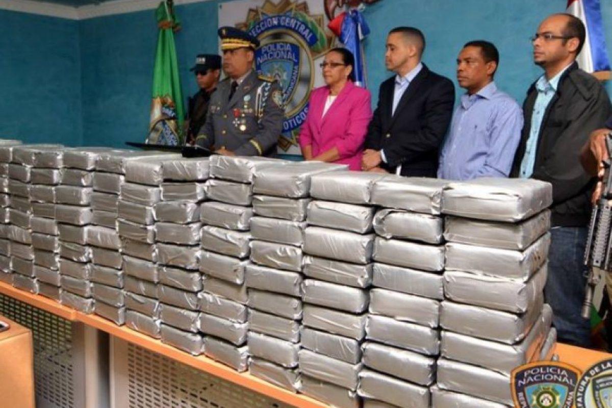 La droga confiscada Foto:Fuente Externa