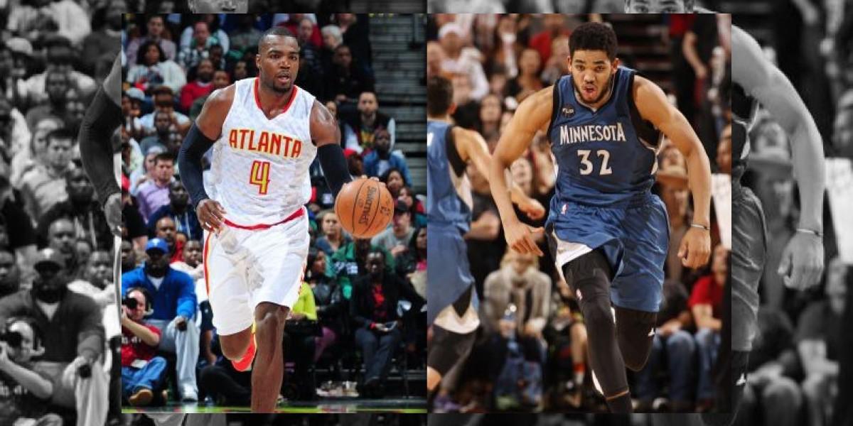Millsap y Towns, 'Jugadores de la Semana NBA'