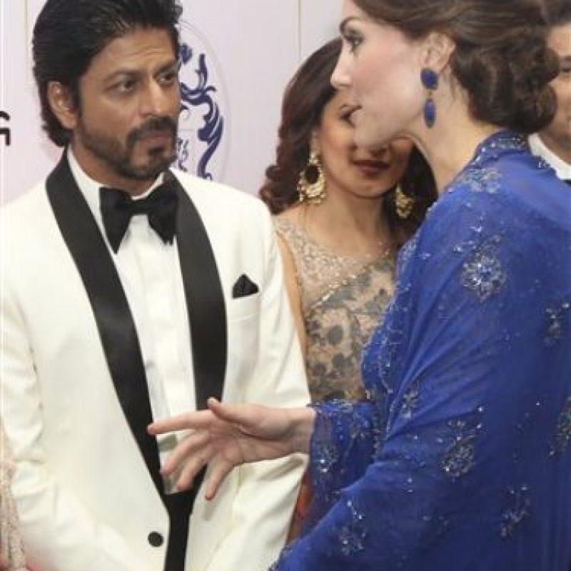 Ahí se encontraron con distintos actores del famoso Bollywood Foto:AP