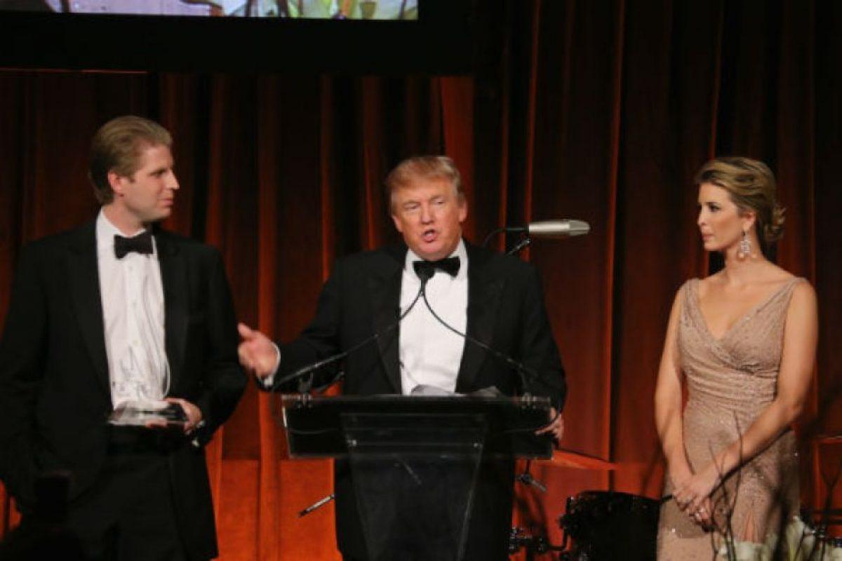 Se trata de Eric e Ivanka Trump. Foto:Getty Images