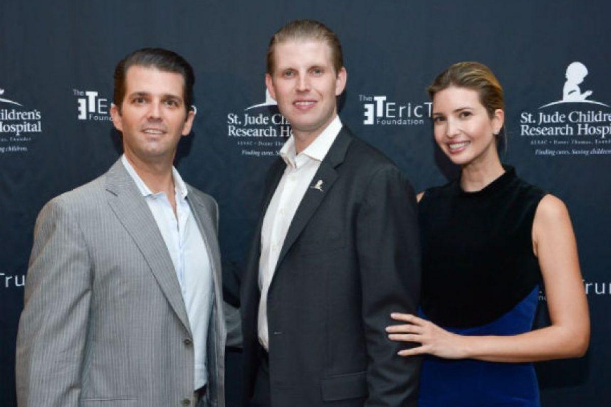 Del que también nació Donald Trump, Jr. (izquierda) Foto:Getty Images