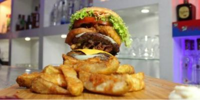 Una hamburguesa para el apetito más voraz