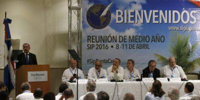 Candidatos proclaman ante la SIP respeto a la libertad de expresión