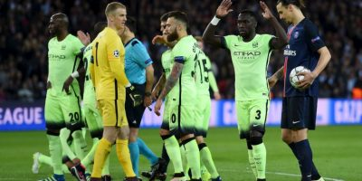 Manchester City vs. PSG Foto:Getty Images