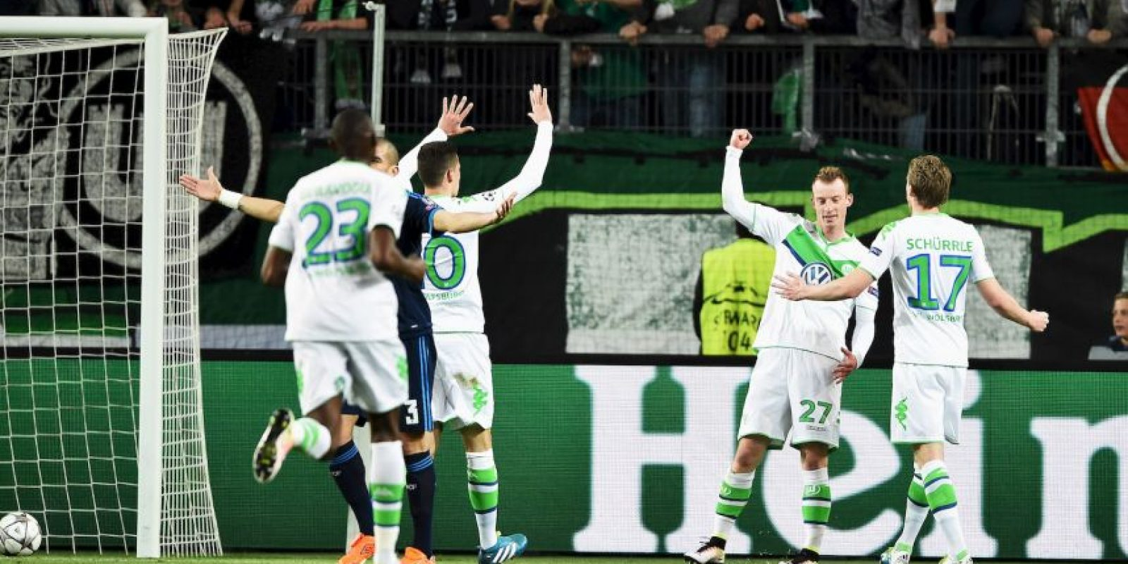 Los alemanes sorprendieron en el partido de ida Foto:Getty Images