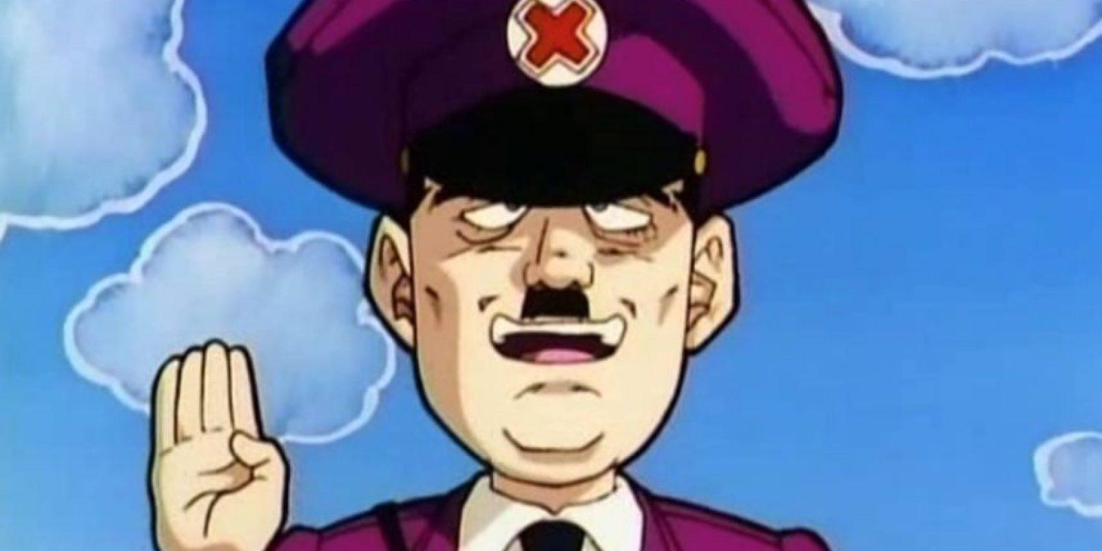 "En ""Dragon Ball Z"", de Akira Toriyama, Hitler revive del infierno con todo su ejército. Foto:vía Toei"