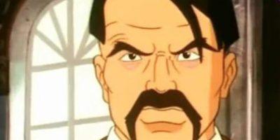 """Así aparece en """"Capitán Planeta"""". Foto:vía Fox Kids"""