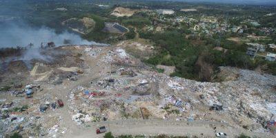 Los industriales denuncian humareda vertedero de Haina