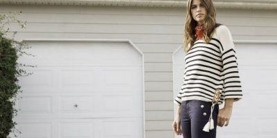 """""""Love For Stripes"""" ¡Azul, rojo, blanco y muchas rallas! Admítelo, también amas el estilo marinero. Foto:Fuente externa"""