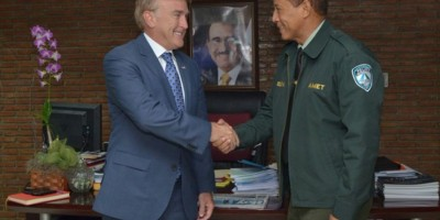 AMET y embajador de EE.UU coordinan acciones para mejorar la seguridad vial