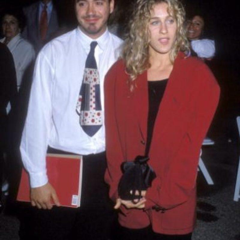 Ella le aguantó prácticamente todo lo que vivió él con las drogas. Foto:vía Getty Images