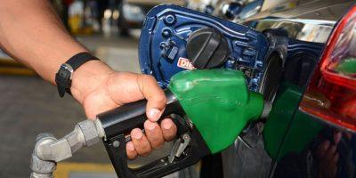 Combustibles hacia arriba, menos el Gas Natural