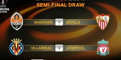 Y así se jugarán las de la Europa League Foto:twitter.com/ChampionsLeague/
