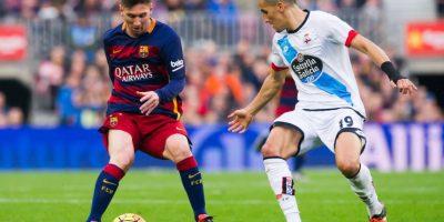LIGA BBVA: 20 de abril / Deportivo vs. Barcelona Foto:Getty Images