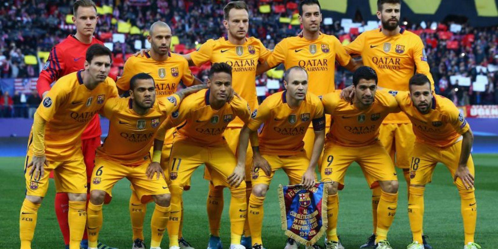 No todo está perdido para el Barcelona. Foto:Getty Images
