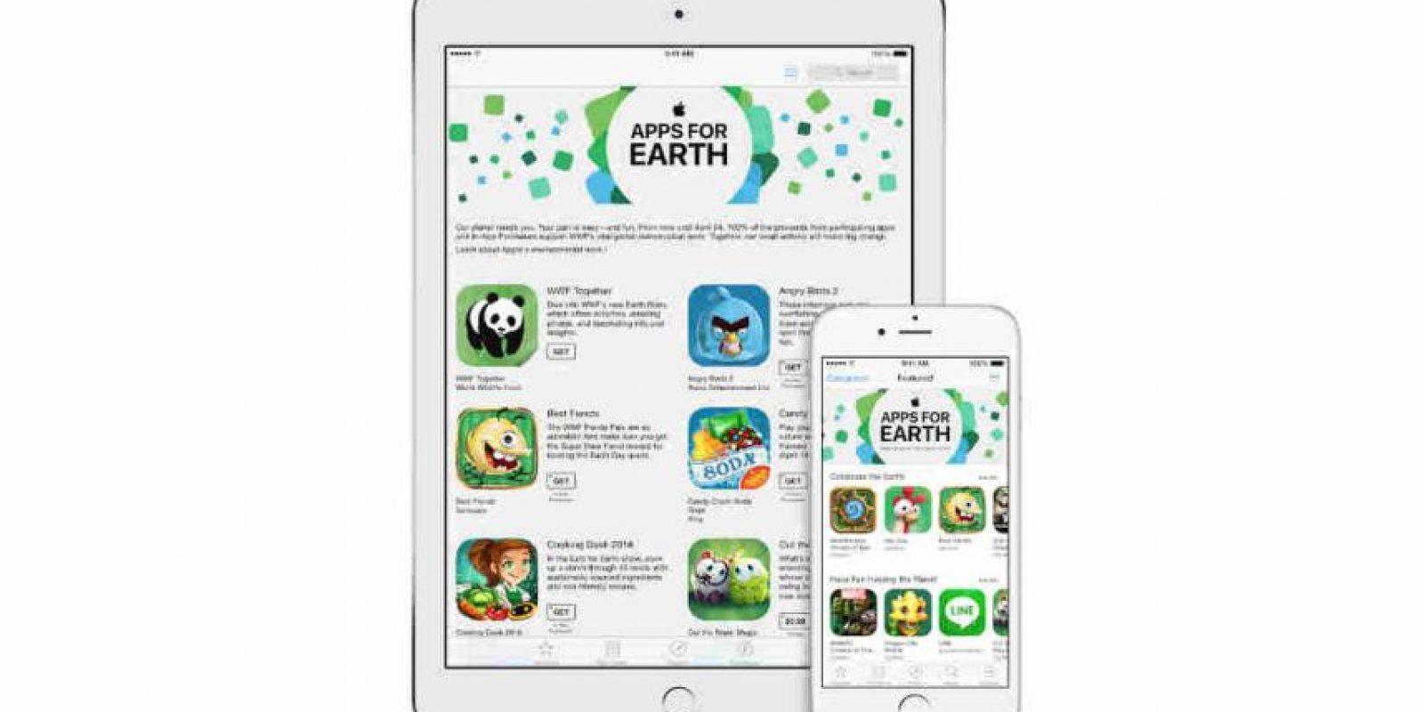 Ayuda también a especies en extinción. Foto:Apple