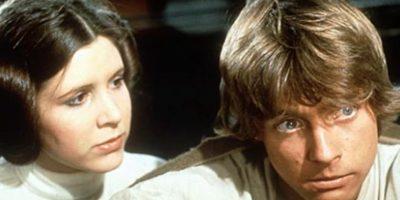 """Luke y Leia de """"Star Wars"""" al comienzo se amaban. Luego ella termina con Han Solo. Foto:vía Disney"""