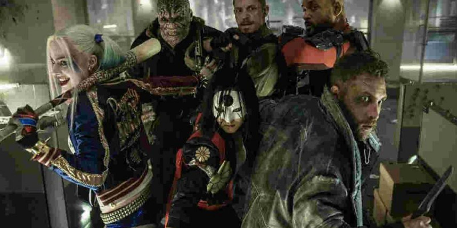 """Suicide Squad"". Agosto 5, 2016. Foto:DC"