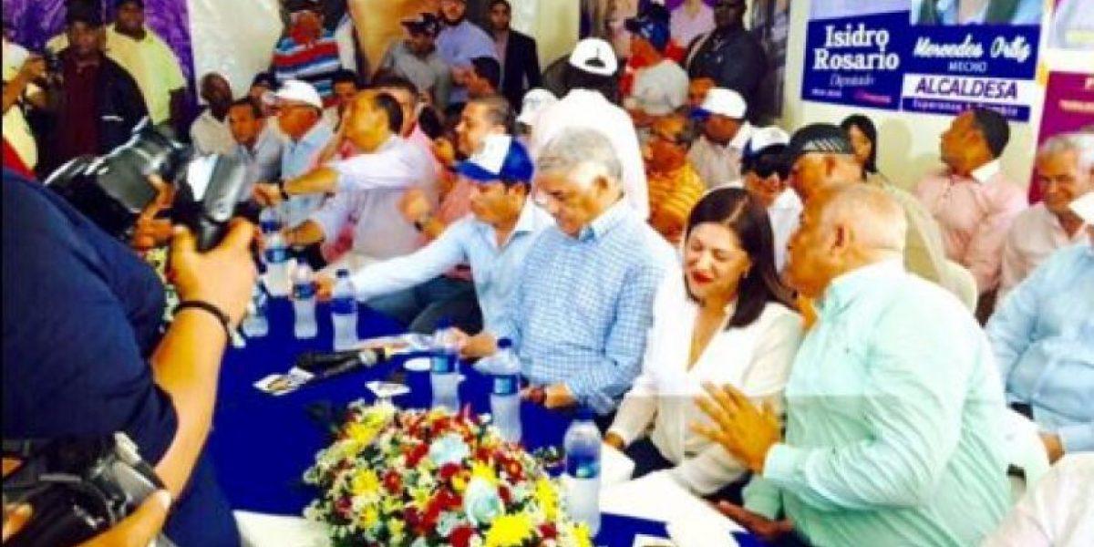 El PRD juramenta en SFM a 308 dirigentes que renunciaron del PRM
