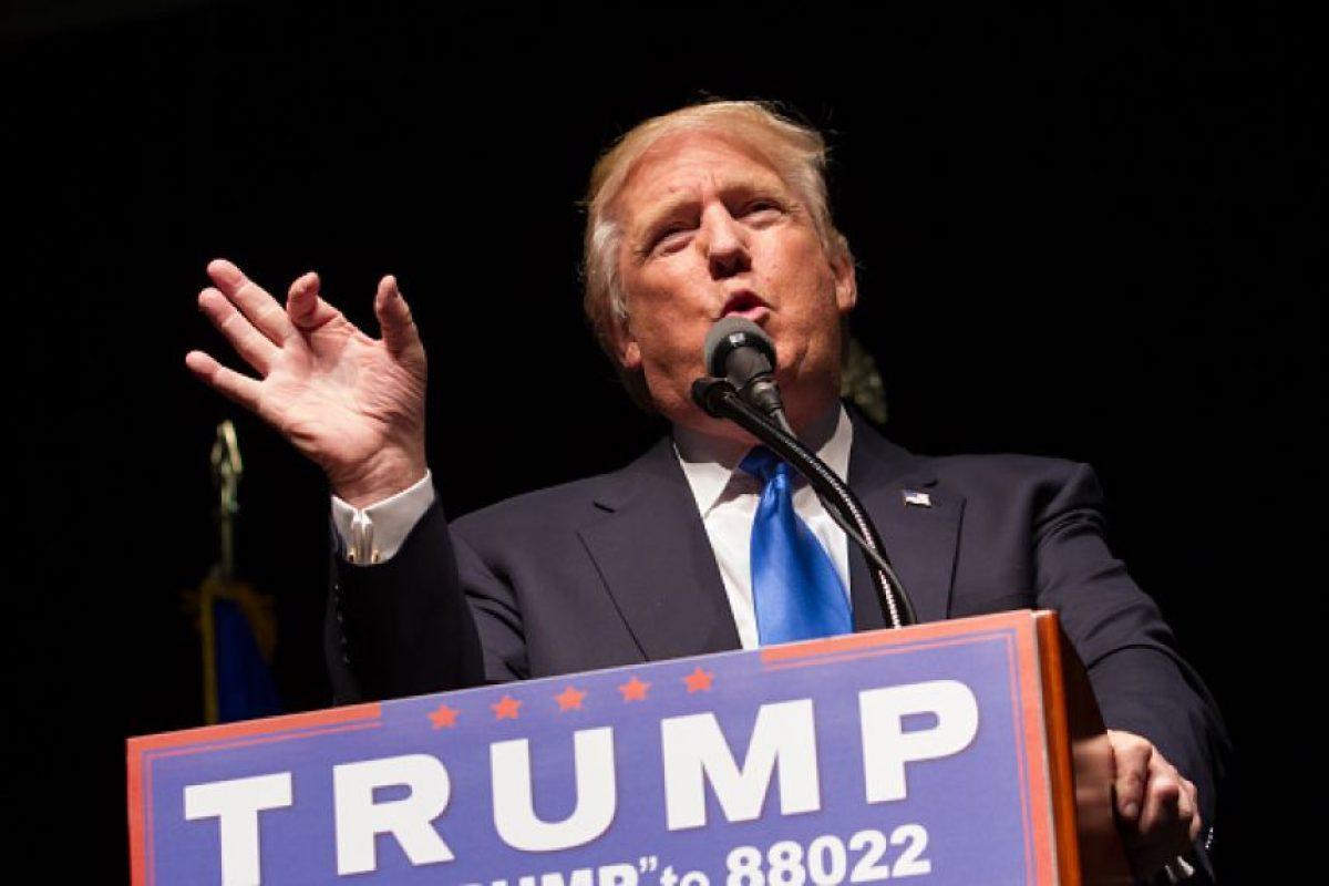 """En julio de 2015, Joaquín Guzmán Loera """"El Chapo"""", escapó del penal del Altiplano, lo que Trump usó para decir """"se los dije"""" Foto:Getty Images"""