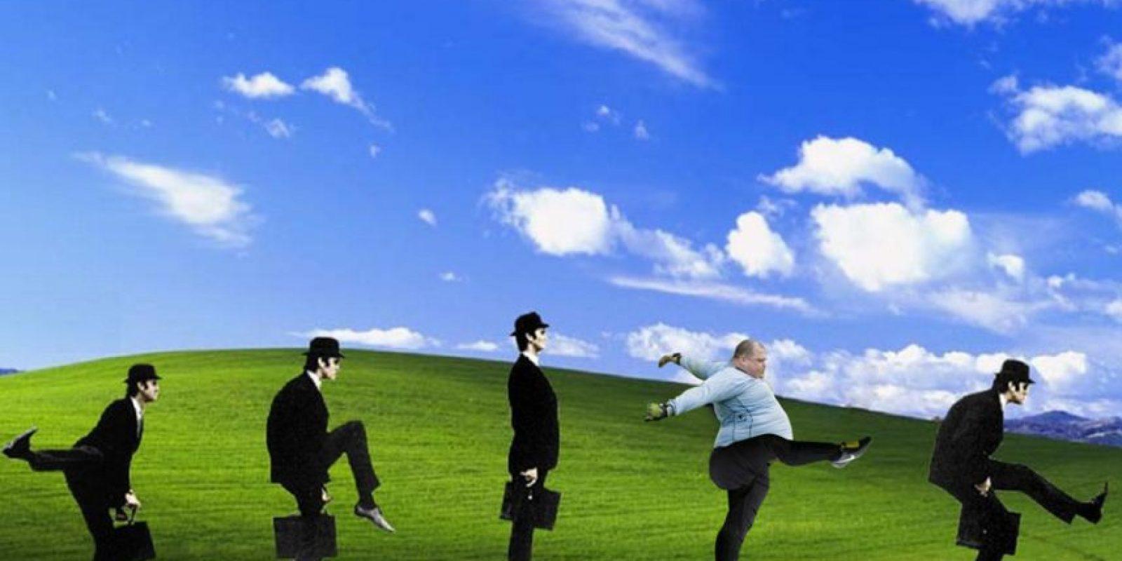 Como fondo de Windows XP. Foto:reddit.com