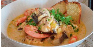 La paila marina utiliza muchos ingredientes de la cocina costera. Foto:Archivo