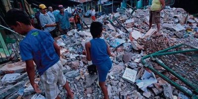 En la zona norte costera se registraron los mayores destrozos. Foto:Metro