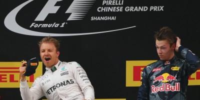 Nico Rosberg ganó en GP de Shangai