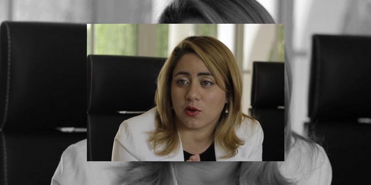 """Gloria Reyes: """"Las personas nos expresan su deseo de que la política se adecente un poco"""""""