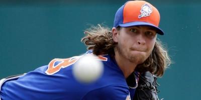 Jacob deGrom programado para abrir por los Mets el domingo