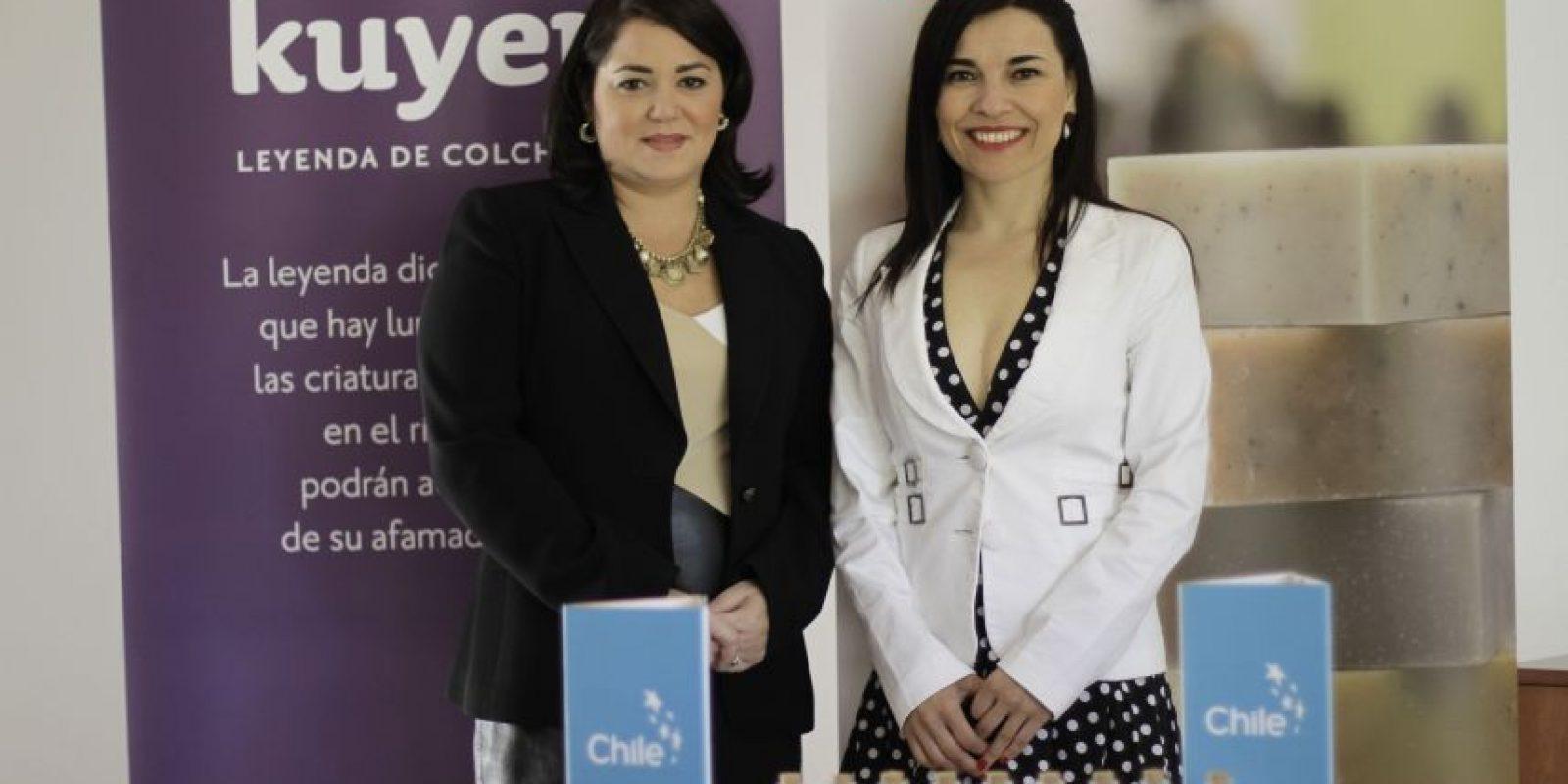 Liz Rivas de Ginebra y Iris Arévalo Osorio . Foto:Roberto Guzmán