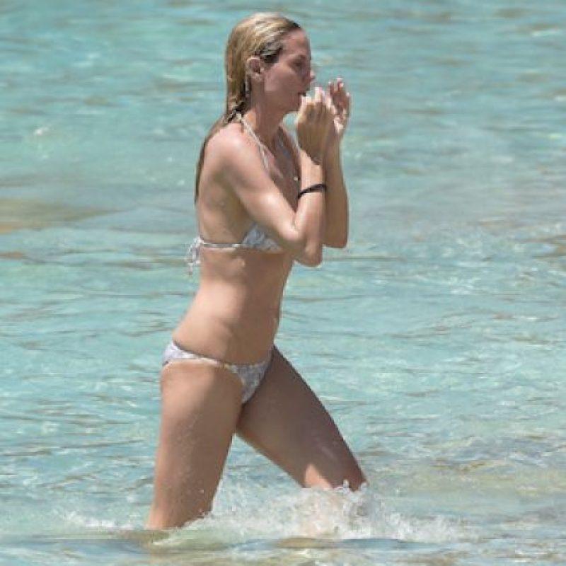 Así lucía Heidi Klum en la playa Foto:Grosby Group