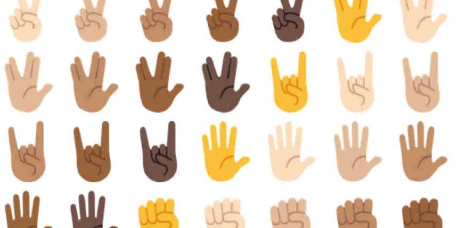 Hace tiempo iOS también presentó este tipo de emoticones. Foto:Emojipedia