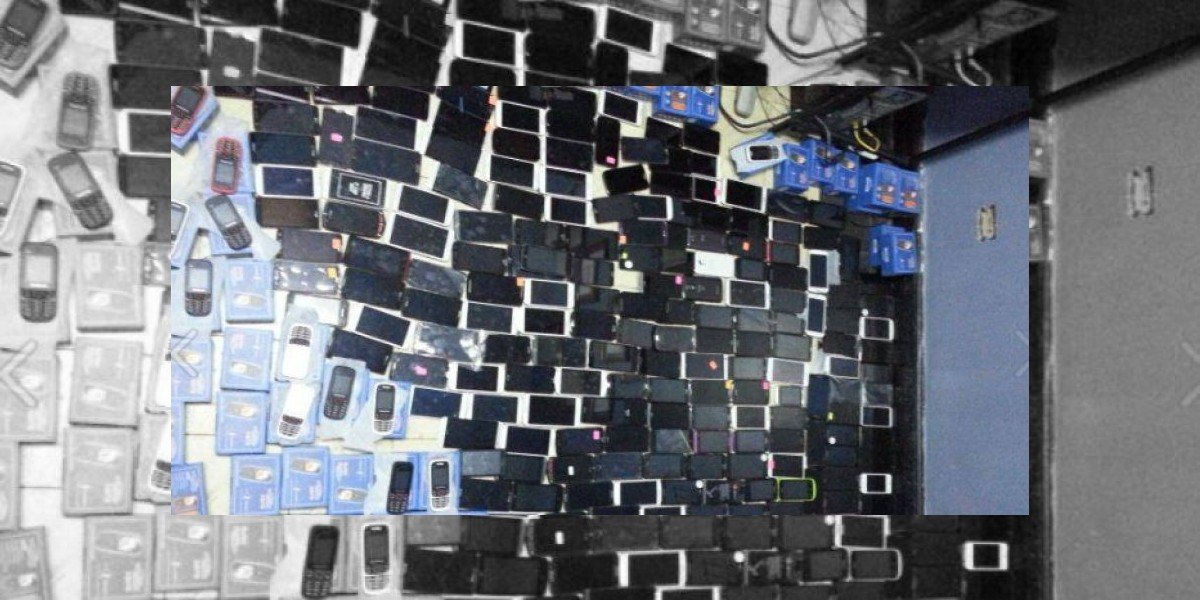Hombre tenía 312 celulares robados, según la Policía