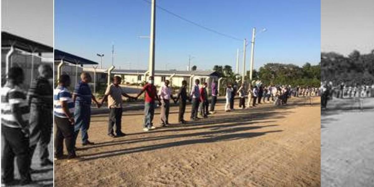 Realizarán cadena humana para exigir puentes peatonales en Paya, Peravia