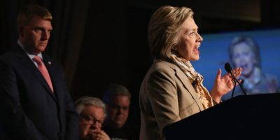 Hillary Clinton derrotó a Bernie Sanders. Foto:vía Getty Images