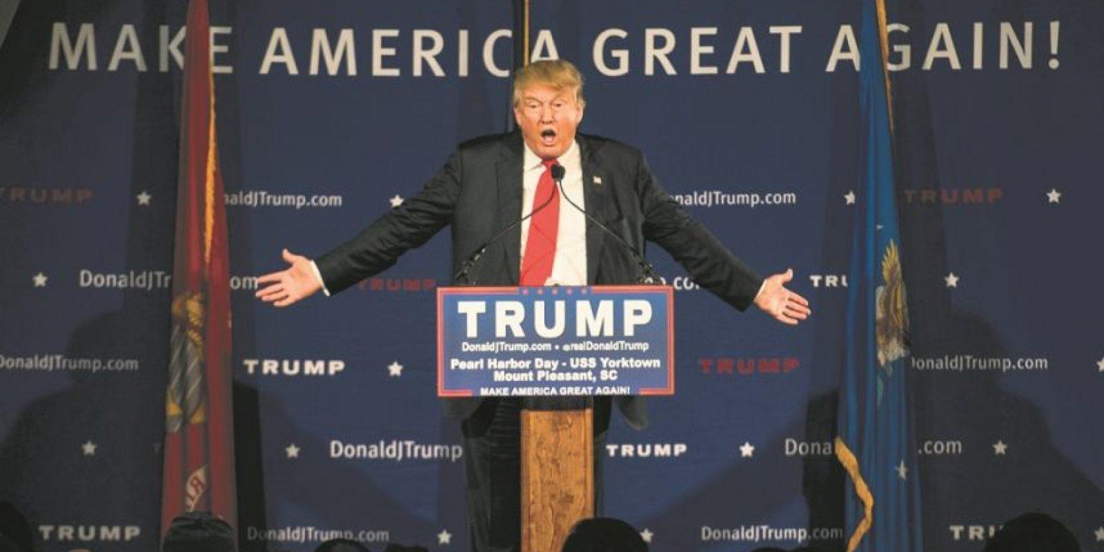 Trump alcanzó 89 de los 95 delegados. Foto:Fuente externa