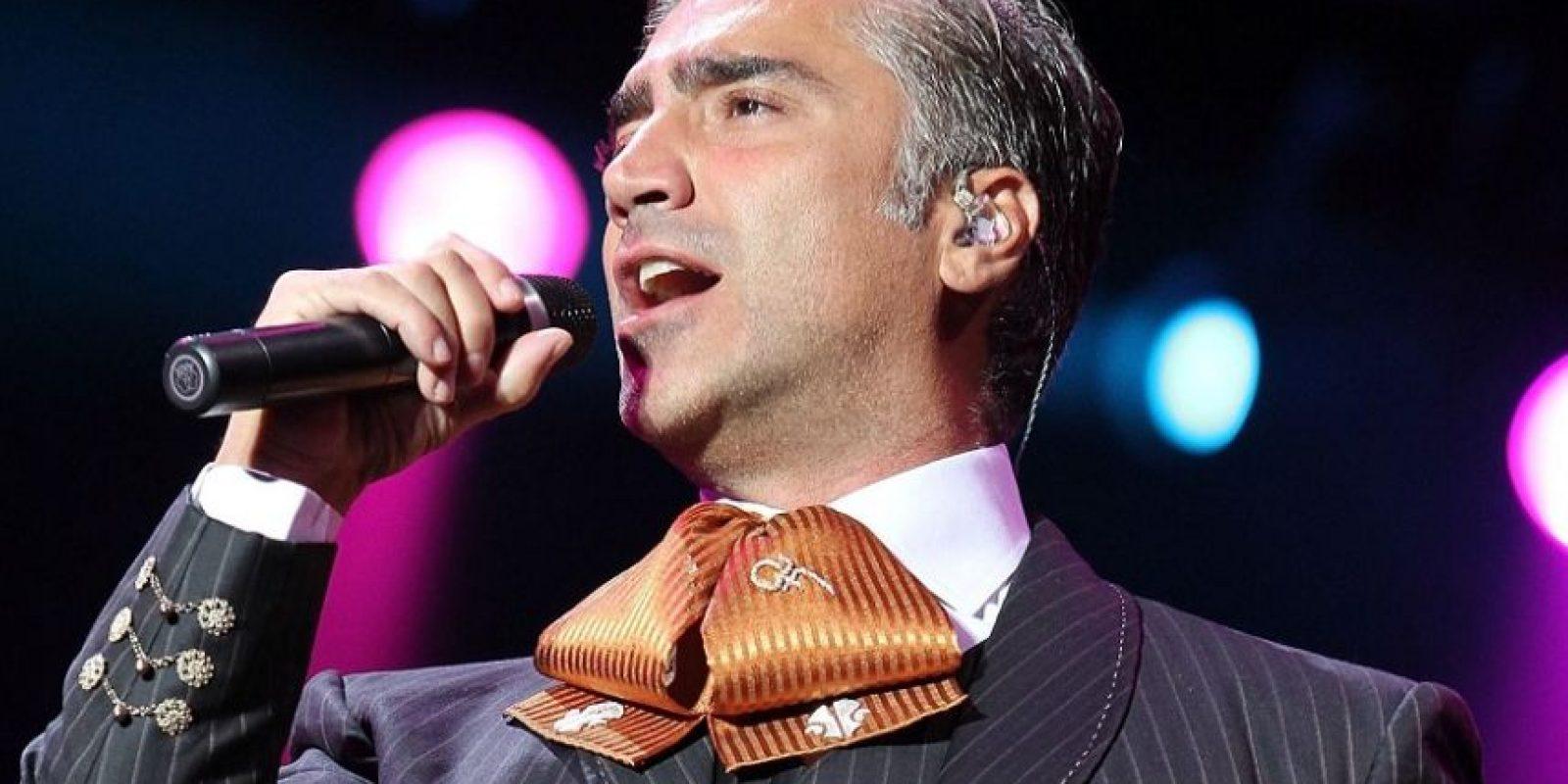 Alejandro Fernández cantará sus éxitos de siempre. Foto:Fuente externa