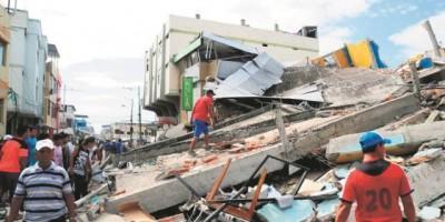 Ecuador registra 575 réplicas tras terremoto, con 525 fallecidos