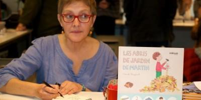 Autora e ilustradora Pascale Bougeault en RD
