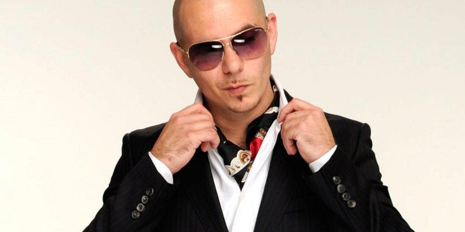 Pitbull vendrá con su repertorio. Foto:Fuente externa