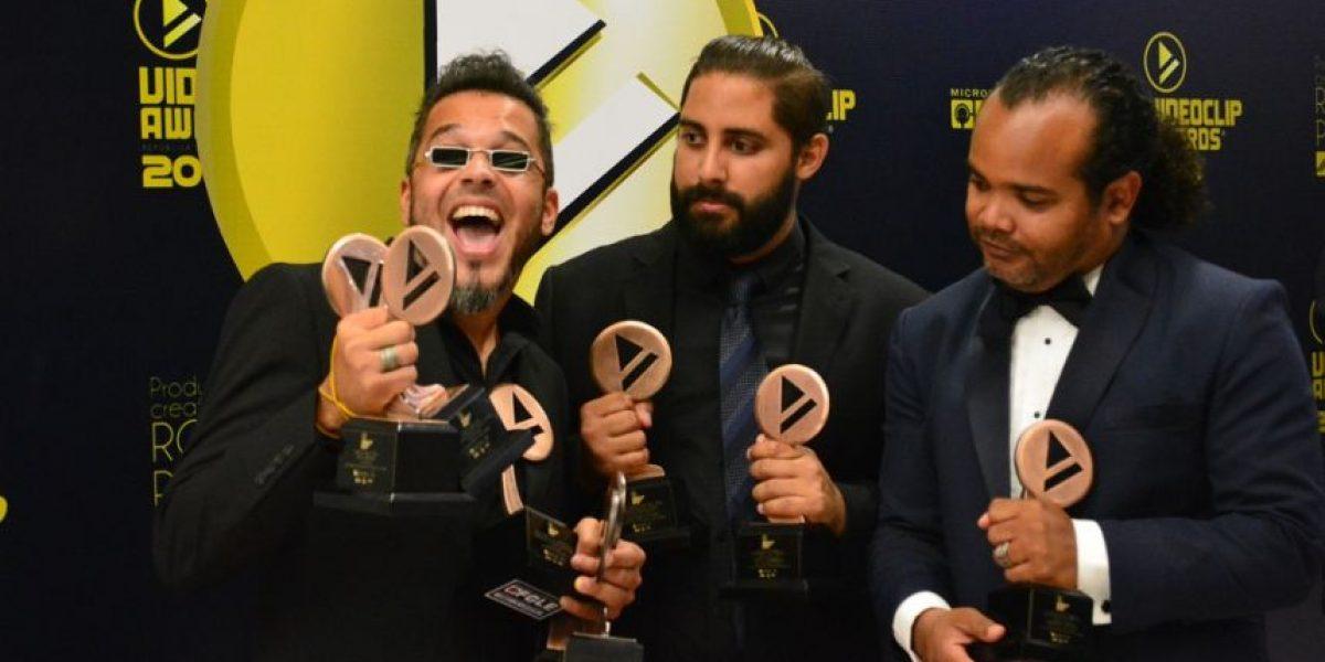 Una noche que premió la creatividad: Premios Videoclip Awards 2016