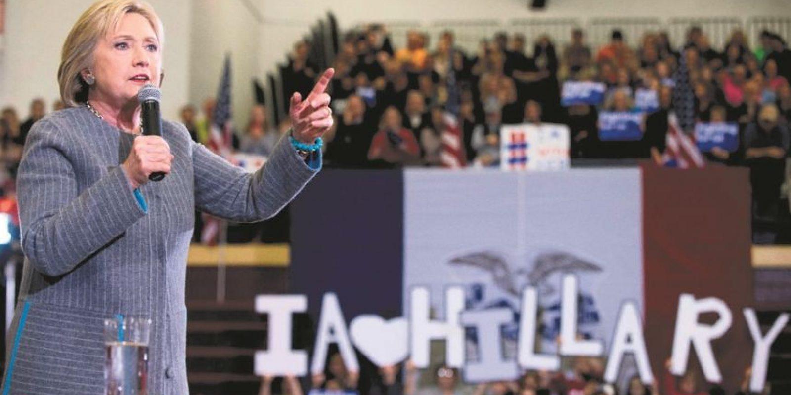 En Nueva York, Hillary obtuvo 139 delegados frente a 106 de Bernie Sanders. Foto:Fuente externa