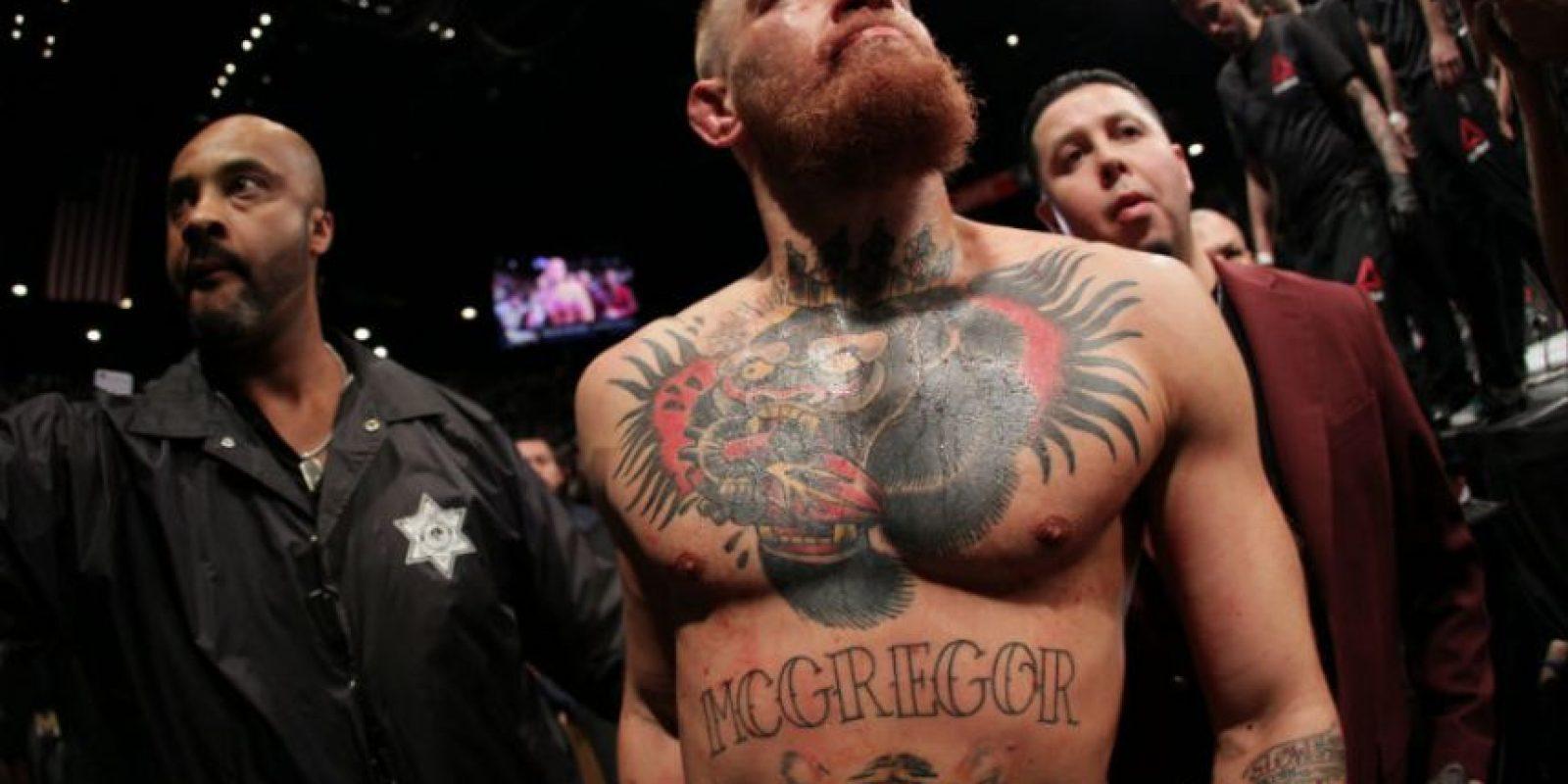 Conor McGregor es un peleador de 27 años Foto:WWE