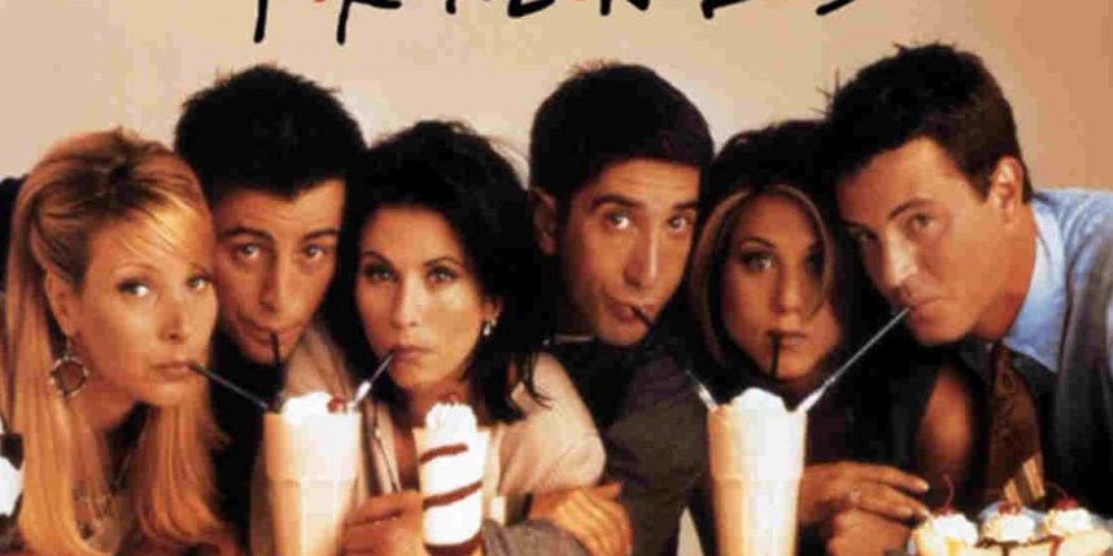 8.- Friends Foto:NBC