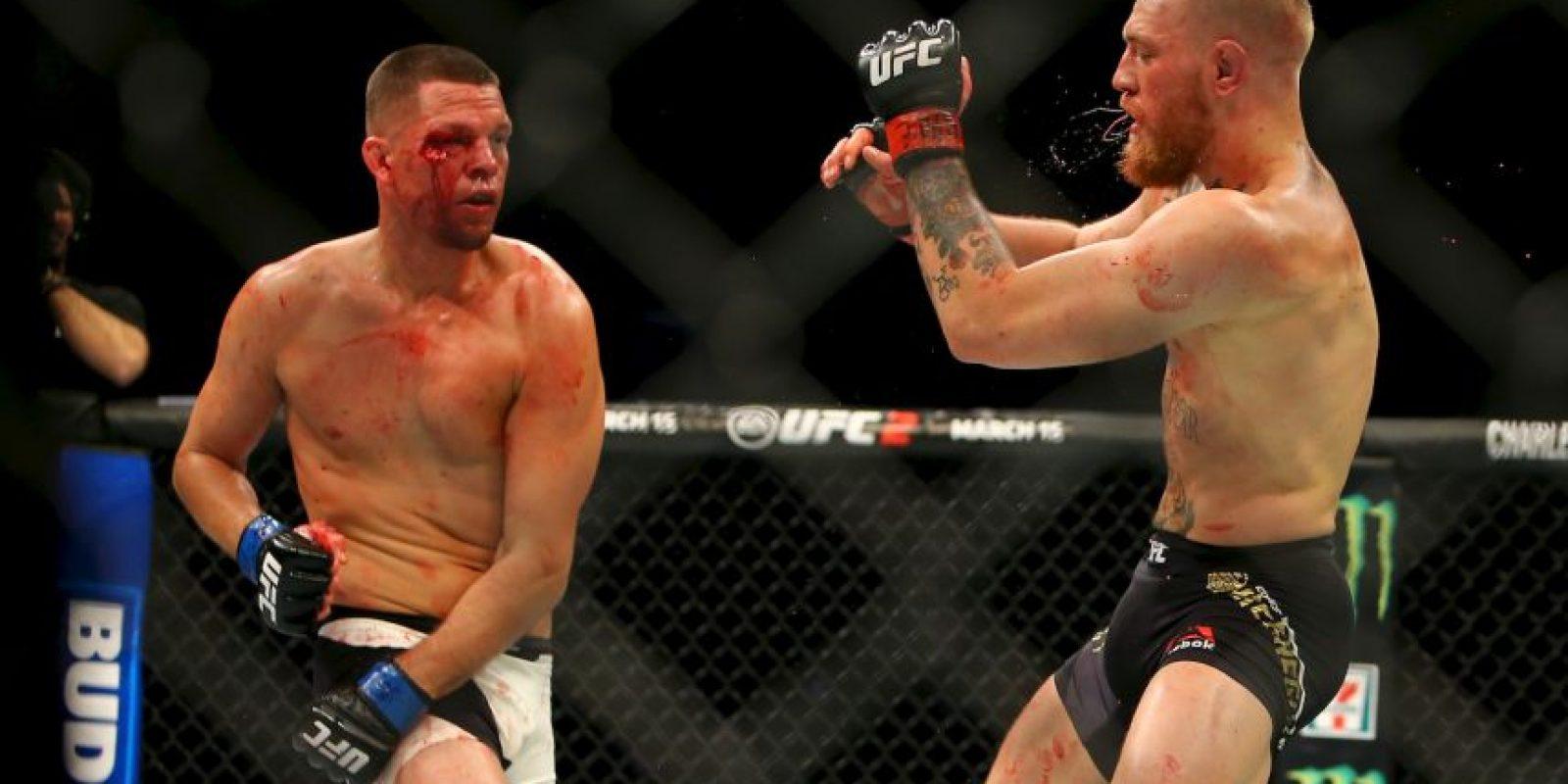 """Habían pactado una revancha para """"UFC 200"""" Foto:WWE"""