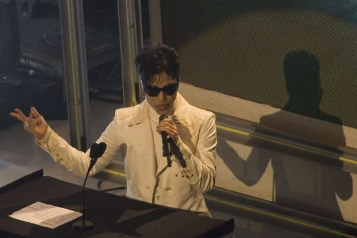 En 2004 Prince ingresó al Salón de la Fama del Rock and Roll Foto: Grosby Group