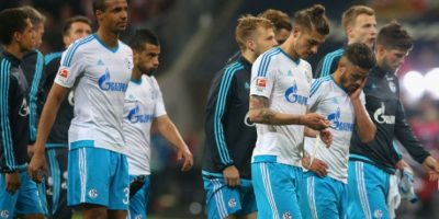 9. Schalke 04. $59.33 millones de euros Foto:Getty Images