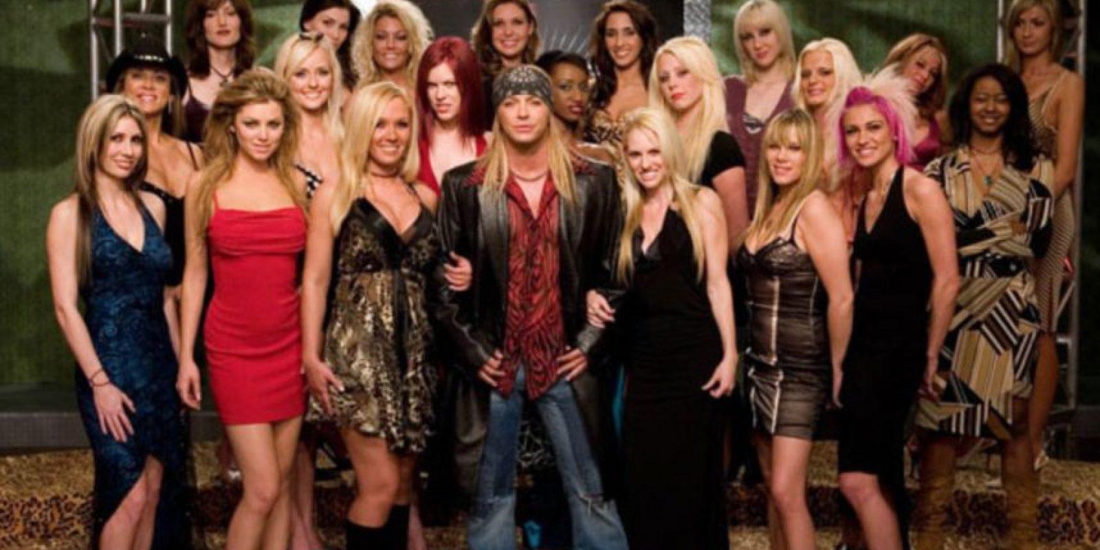 """Pero mucha más gente lo conoció por el reality """"Rock of Love"""". Foto:vía VH1"""