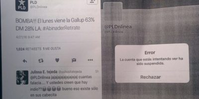 PRM denuncia publicación cuenta twitter con nombre del PLD resultados sondeo